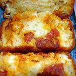 recette cake au chorizo et au maroilles (de sophie dudemaine)