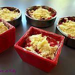 recette Crumble fraise nougat de Christèle