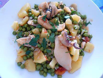 Seppia petits pois et patate  430
