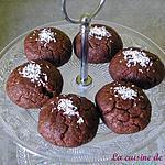Biscuits au chocolat imbibés de sirop