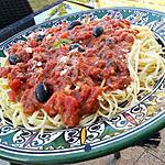 Spaghetti à la niçoise