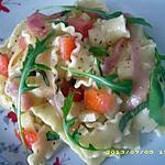 recette salade de lasagnette à la roquette