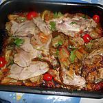 recette Epaule d agneau rotie aux blettes