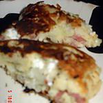 recette Gateau salé FBO  : feta – bacon – oignons
