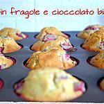 recette Muffins fraises et chocolat blanc