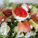"""recette Ma salade """" Nordique ''"""