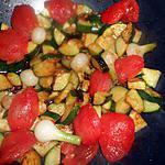 recette poelée de courgettes