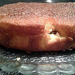 recette Gâteau au yaourt et fleur d'oranger fourré à la ganache
