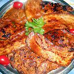 recette Cotes de porc marinées