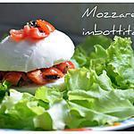 recette Mozzarella farcie