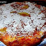 recette tarte chocolat et poires