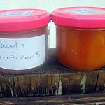 recette Confiture d'abricots nature.