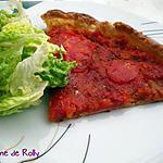 recette Tarte fine tomate basilic de Julie Andrieu