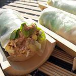 recette Rouleaux de printemps au thon