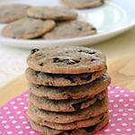 recette ~ Cookies aux pépites de chocolat noir *une vraie tuerie* ~
