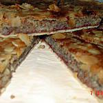 recette tarte bakewell : amandes et framboises
