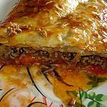recette Chausson à la bolognaise