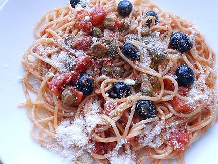 Spaghetti alla pizzaiola 430