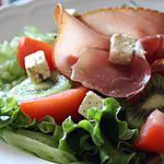 recette Salade sucré salé au kiwi