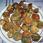 recette Funghi croccanti - champignons croquants- recette de mon époux