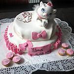 recette gâteau Marie des aristochats vanille et fraise