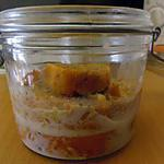 recette PUDDING SALE EN VERRINE
