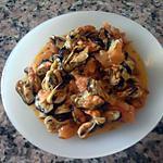 recette Moules épicés