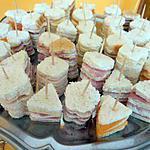 recette APÉRO : minis sandwichs