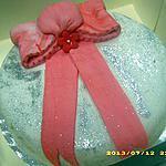recette mon 1er gâteau en pâte à sucre