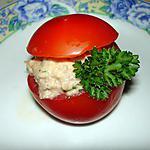 recette Tomates au thon