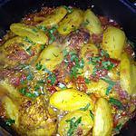 recette Poulet aux poivron au four