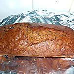 recette CAKE PEPITES CHOCOLAT NOIR / GIANDUJA
