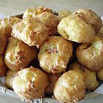 recette Chouquettes emmental-jambon