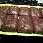 recette Plateau de petit pain au chocolat noir corsé