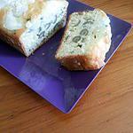 recette Cake aux olives et chèvre