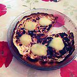 Quiche tomates/poivrons/mozzarella à la moutarde et aux herbes de provence et curry