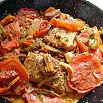 recette poissons aux petits légumes safranés