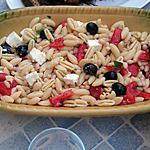 recette Salade de pâte à la grecque
