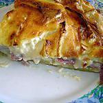 recette Quiche aux pommes de terre ,jambon cru et camembert