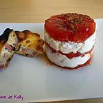 recette Mille feuilles tomate, chèvre frais et basilic
