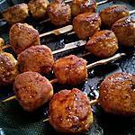 recette Brochettes japonnaises au poulet