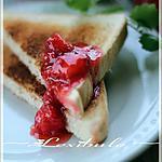 recette ~Confiture de fraises sans cuisson~
