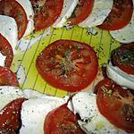 recette Tomates, mozzarella