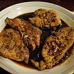 recette Poulet mariné à la sauce de soja