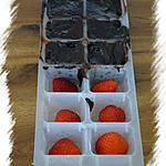 recette Petites douceurs aux fraises et au chocolat