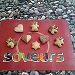 recette sablé amande cannelle pour 35 biscuits