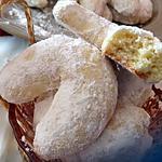 recette Croissant à la noix de coco