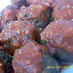 boulettes de boeuf à la provençale