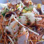 salade de crudité façon chinoise