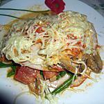 recette Jambon roulé aux haricots verts